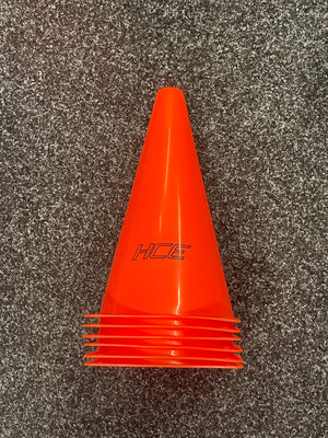 HCE Sports Cone 23cm (SET OF 6)