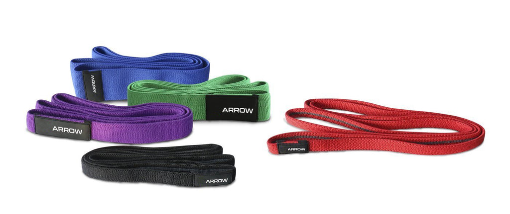 ARROW FABRIC RESISTANCE BANDS FULL SET