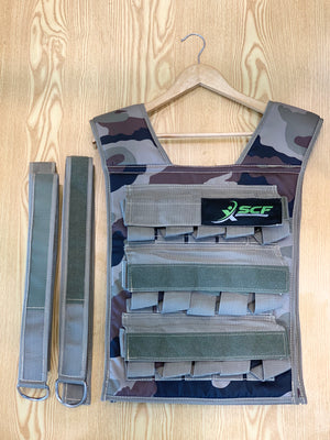 SCF Weighted Weight Vest Various Weights
