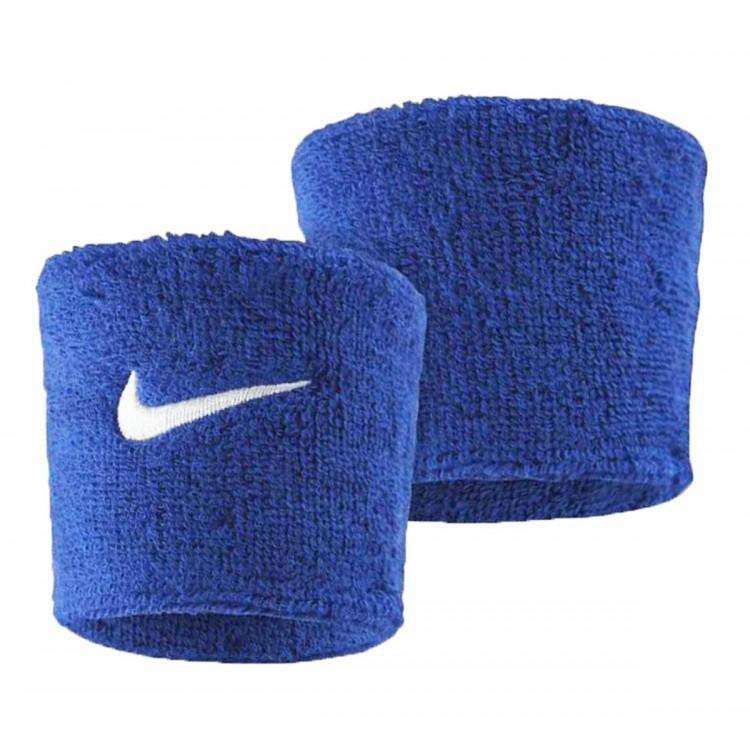 Nike Swoosh Wristband Royal Blue/White