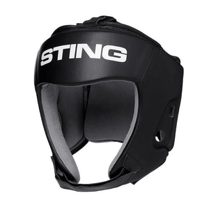 STING ORION GEL OPEN FACE HEAD GUARD