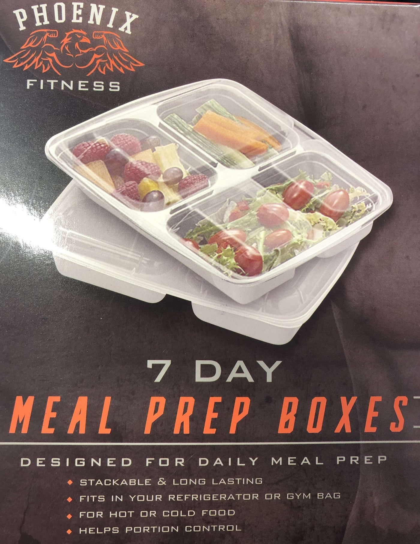 ef61bc3d6b96 Phoenix Fitness Meal Prep Boxes 7 Pack