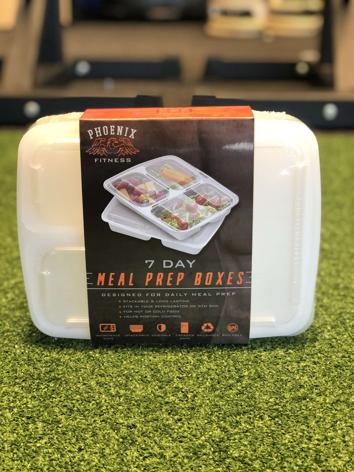 Phoenix Fitness Meal Prep Boxes 7 Pack