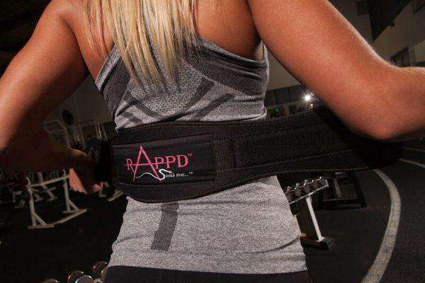 "Rappd 9mm Neoprene 4""  Heavy Duty Weight Lifting Belts"