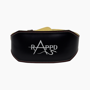 "Rappd 6"" Leather Weight Belt"
