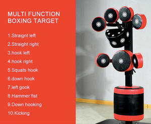 ARROW Boxing Multi Directional Boxing Target With Hydraulic Lift