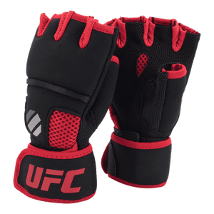 UFC Contender Quick Wrap Inner Gloves w/EVA Knuckle Black