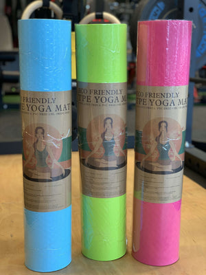 Eco friendly PVC, Latex Free yoga mat
