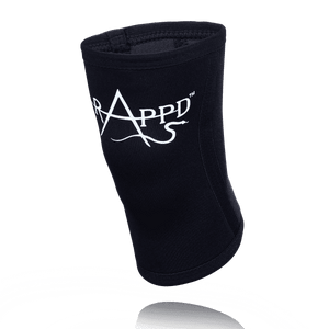 RAPPD KNEE SLEEVES 5MM NEOPRENE