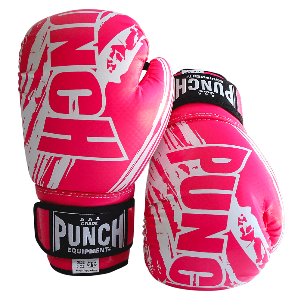 PUNCH KIDS / JUNIOR AAA BOXING GLOVES 6 OZ