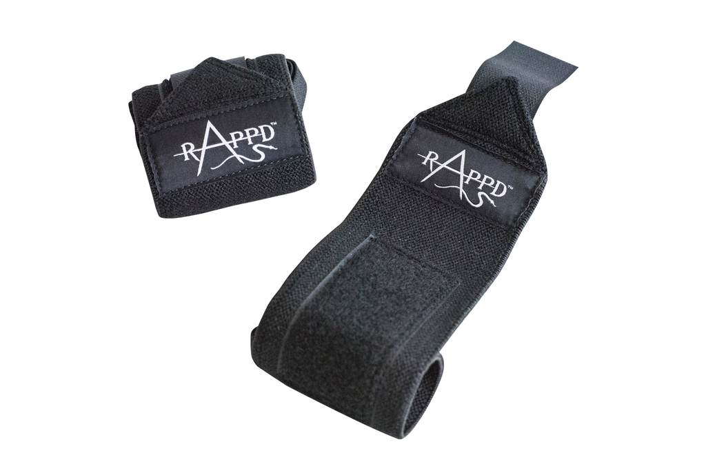 Rappd Wrist Wraps - Black