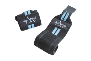 Rappd Wrist Wraps - Blue
