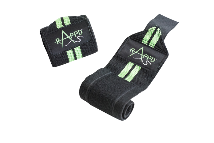 Rappd Wrist Wraps - Green