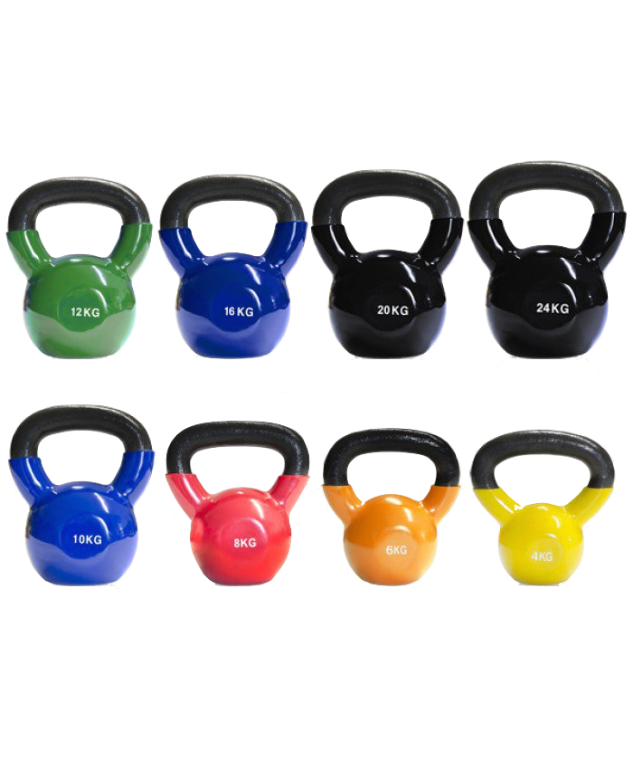 Vinyl Coated Cast Iron Kettlebell