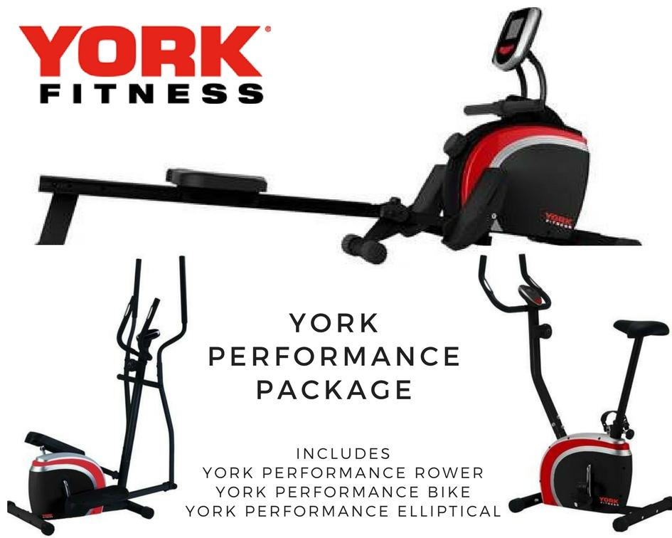 York Performance Home Cardio Package