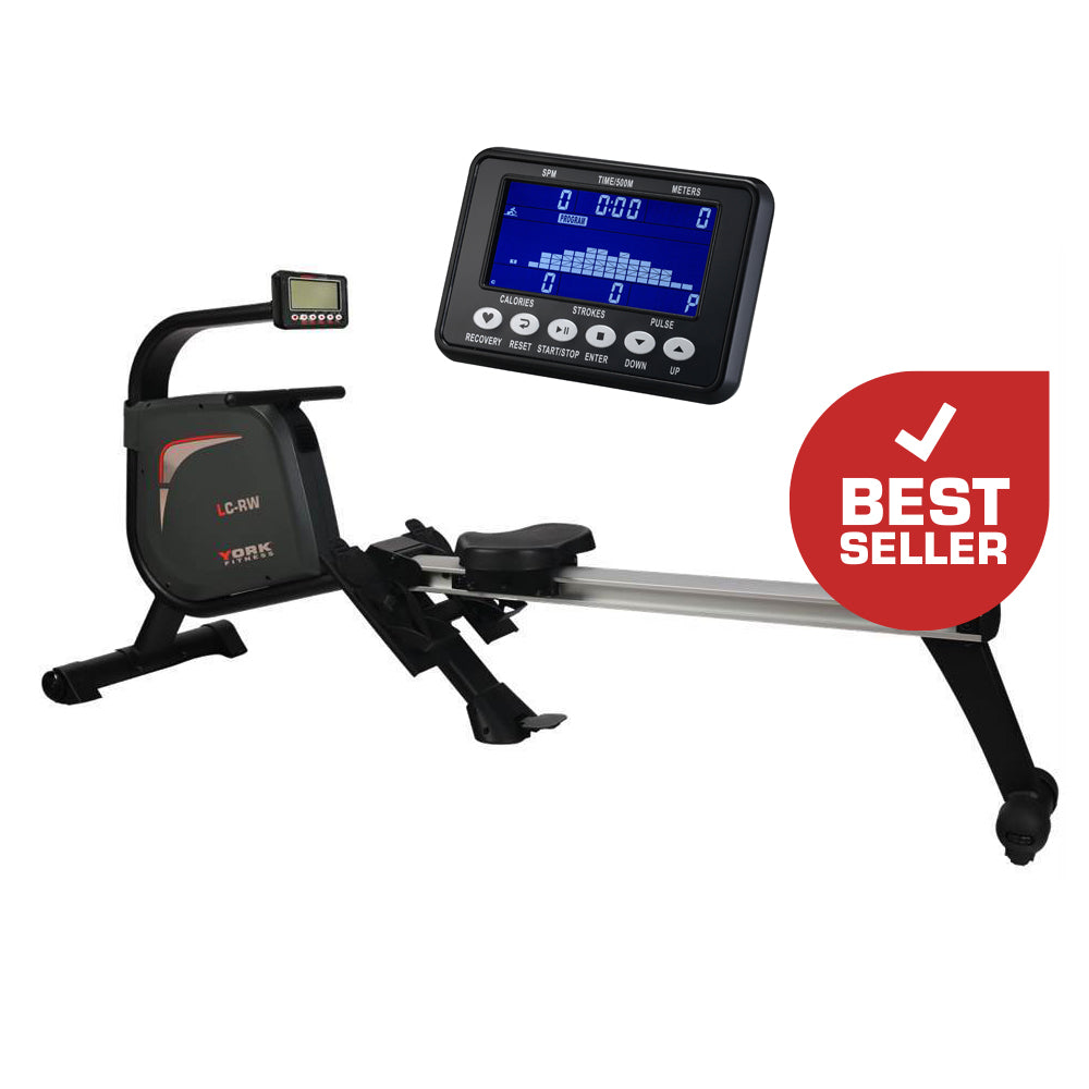 York Fitness LC-RW Light Commercial Rower Machine