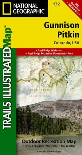 Gunnison, Pitkin (National Geographic Trails Illustrated Map)