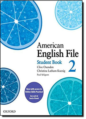 American English File: Level 2: Student Book Pack