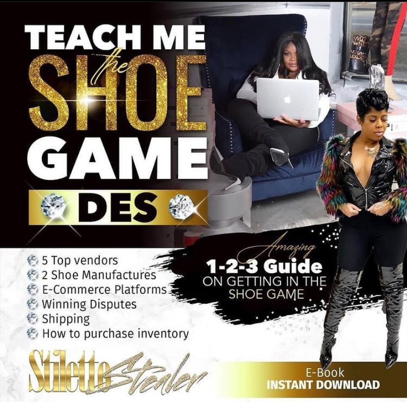 GETTING IN THE SHOE GAME - Stiletto Stealer Store
