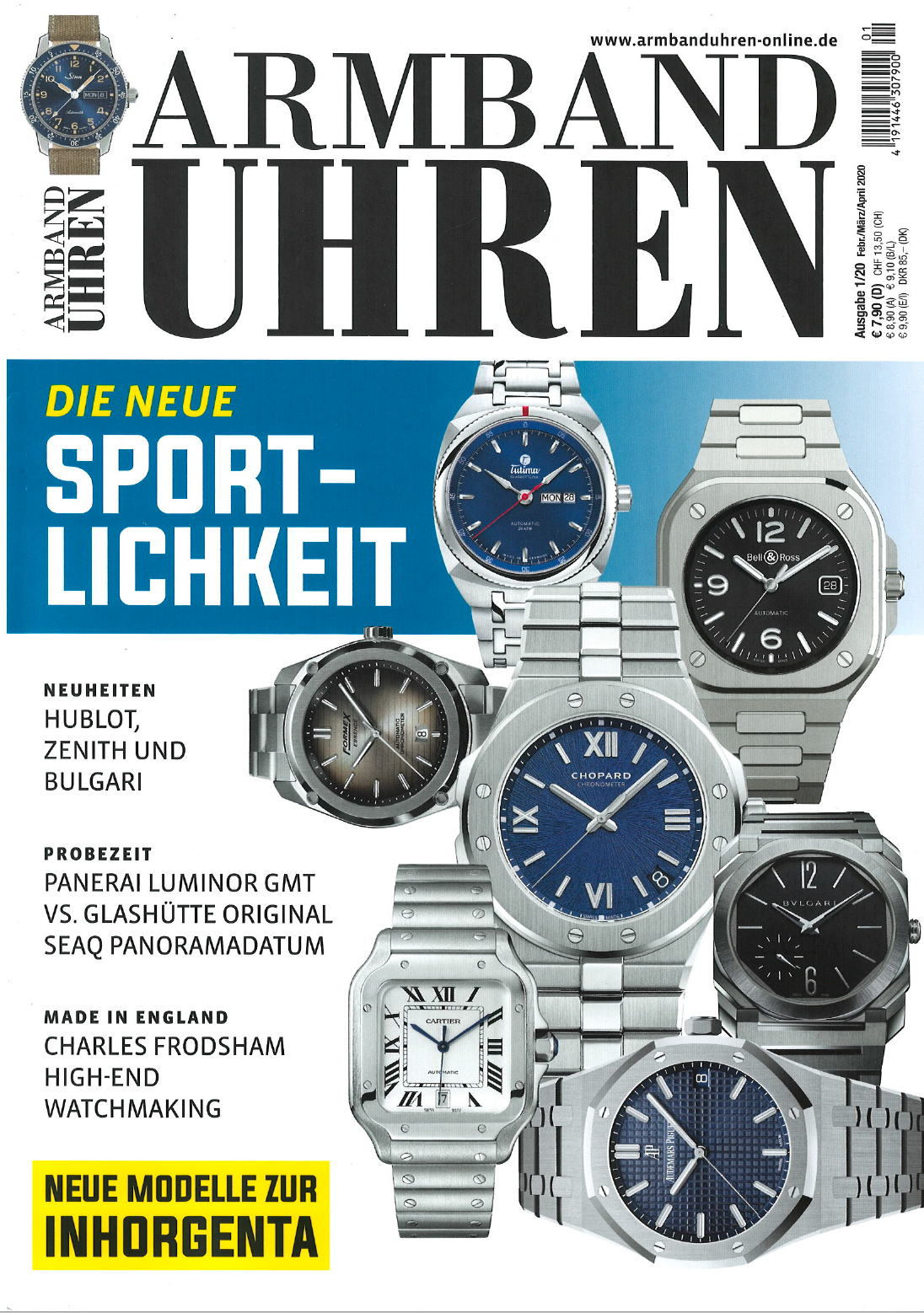 ARMBAND UHREN Formex Essence Automatic Chronometer Dégradé