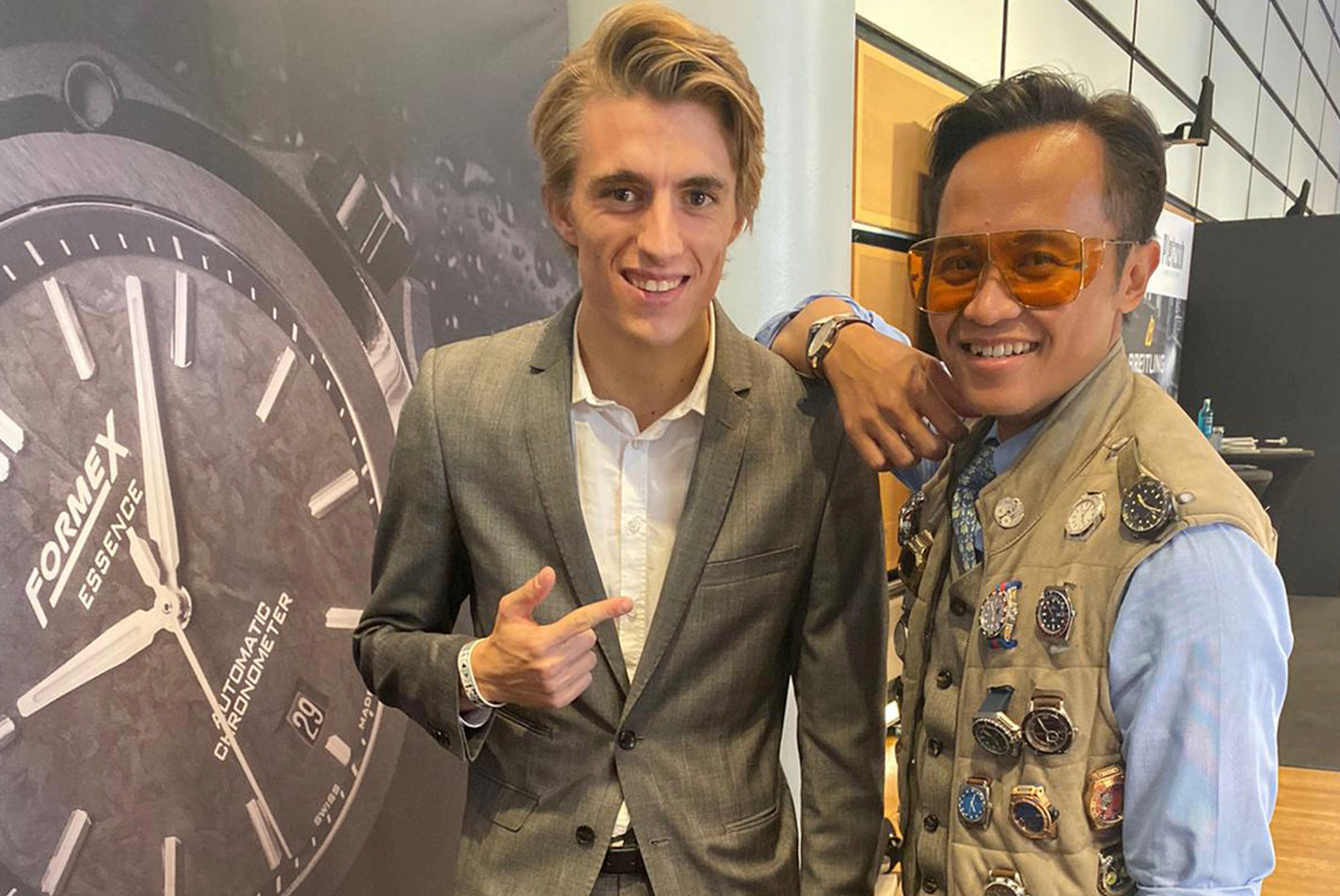 Alex Toril at Watchtime Düsseldorf