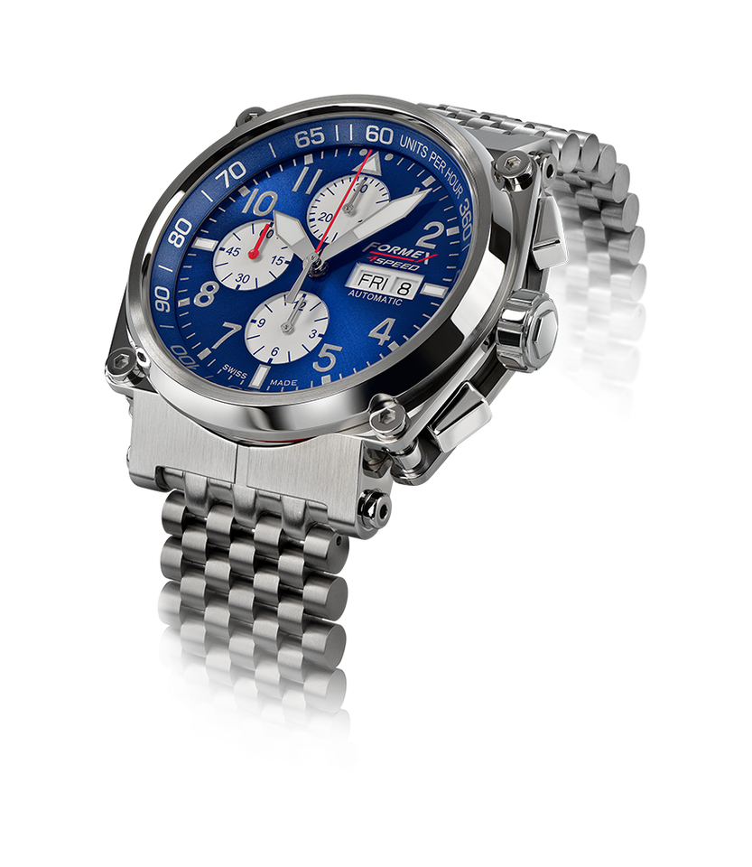 Automatic Chronograph Blue