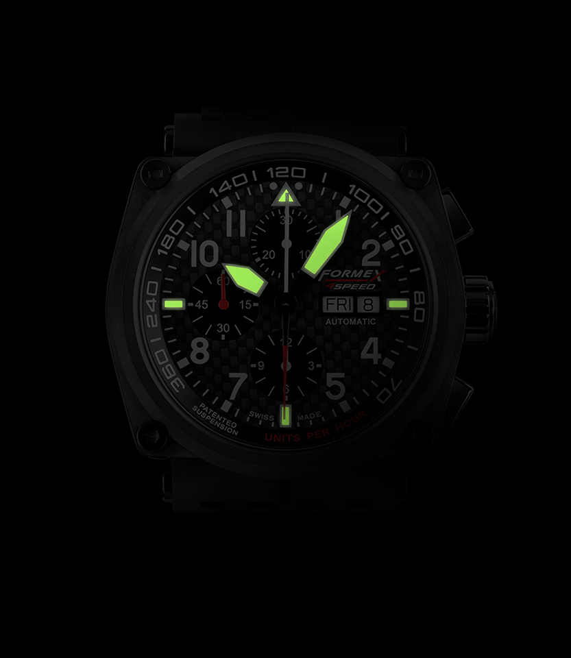 Automatic Chronograph Carbon Dial Black Limited Edition
