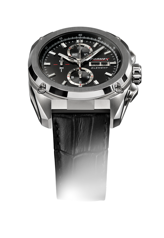 Automatic Chronograph Full Steel Black