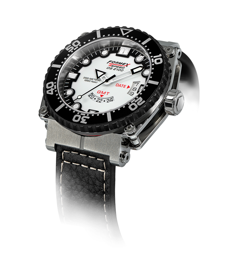 Quartz GMT White