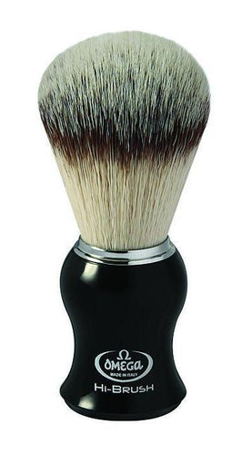 Omega 0146206 Hi-Brush Synthetic Shaving Brush