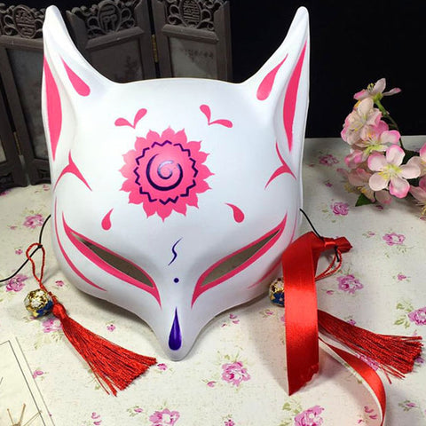Japanese Fox Mask - Authentic Tankensuru Japan Special