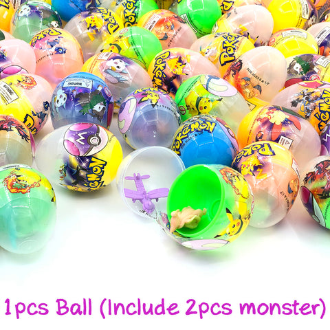 100pcs Pokemon Toys Gashapon! (Tankensuru Japan SPECIAL)