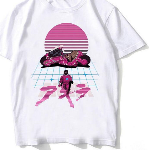 Akira Synthwave - Good For Health Bad For Education Tees