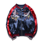 Japan Yokosuka Jacket - Men/Women Bomber (Crane Bird Embroidery)