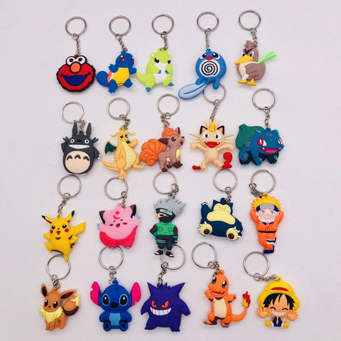 3D Anime Figure Pokemon Go Keychain (LIMITED EDITION)