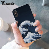 RARE Japanese Hokusai Wave Cases - FOR ALL IPHONES and Androids