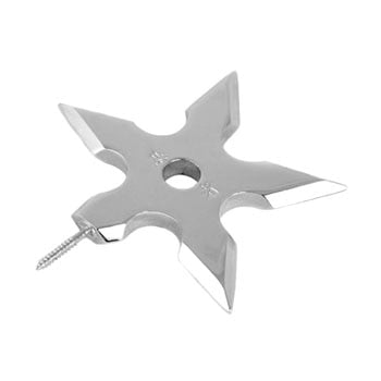 Ninja Star  -  Metal hooks for clothes hangers