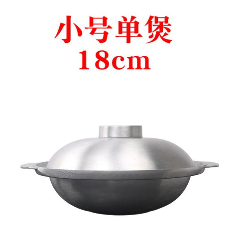 Pot stewed chicken cooking pot non stick Japanese style chafing dish aluminum alloy open flame aluminum stew saucepot casseroles
