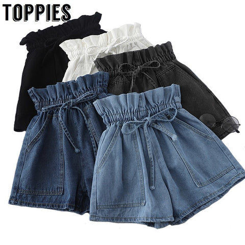 High Waist Bud Skirts - Denim Japan Style