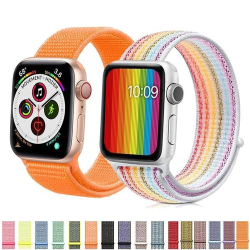 Apple Smartwatch's Colorful Nylon Strap