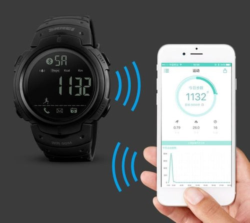 Sport Pedometer Men Smartwatch