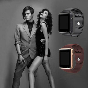 Fashionable Flat Screen Android Smartwatch