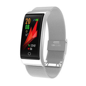 Metal Pedometer Women Smartwatch