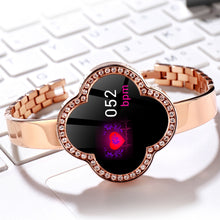 Load image into Gallery viewer, New Floral Bracelet Women Smartwatch