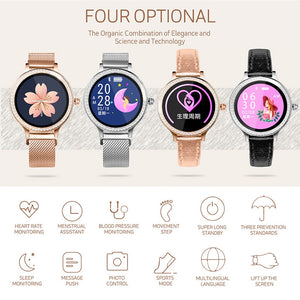 Floral Travelling Lover Woman Smartwatch