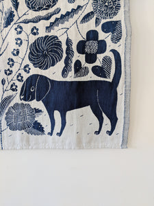 Dog and Cat Tea Towel
