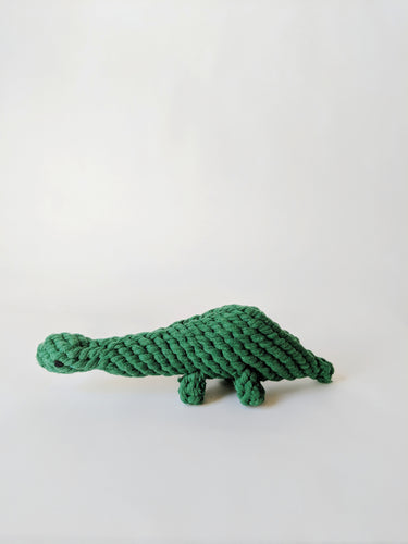 Four Legs Four Walls Organic Cotton Dog Toy Dinosaur