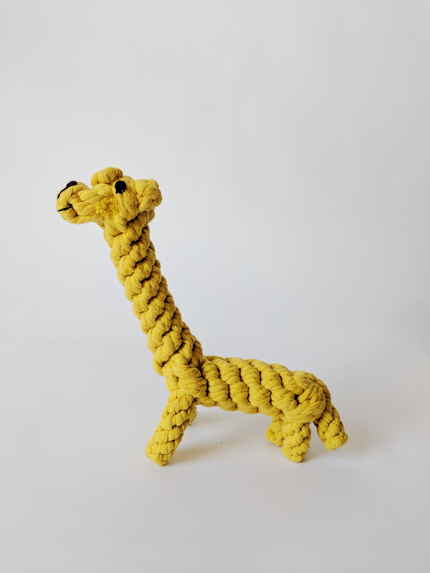 Four Legs Four Walls Organic Cotton Dog Toy Giraffe