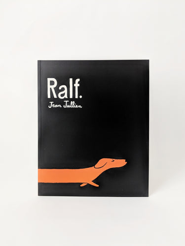 Four Legs Four Walls Ralf by Jean Jullien Book