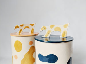 Lucy Dickson x FL/FW Ceramic Treat Jar